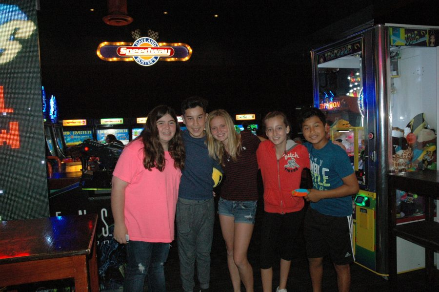 Friends and Smiles, Dave and Busters