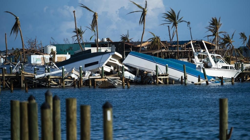Broken homes and boats. Many people are now without homes and transport.